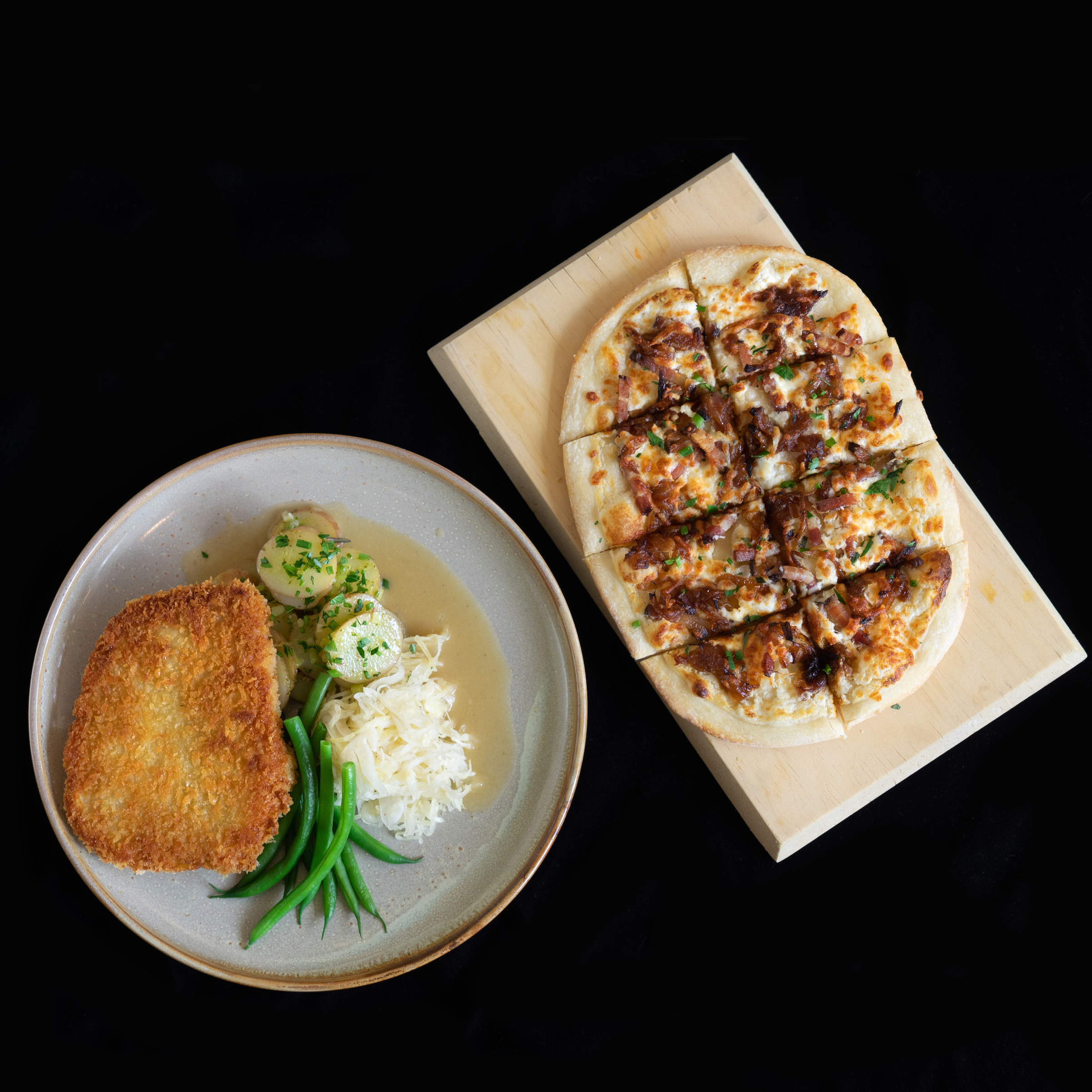 Stratford Chefs School's Schnitzel Finish-at-Home Meal Kit